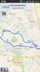 Newc 10k route