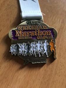 Wrexham medal