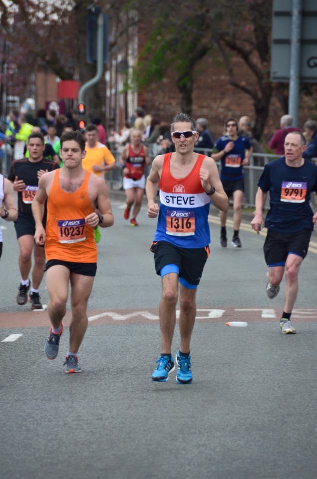 Manchester Marathon Sunday 19th April 2015