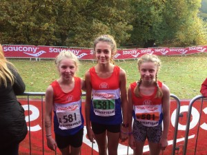 U/13 Girls - Misha, Scarlett and Amelia