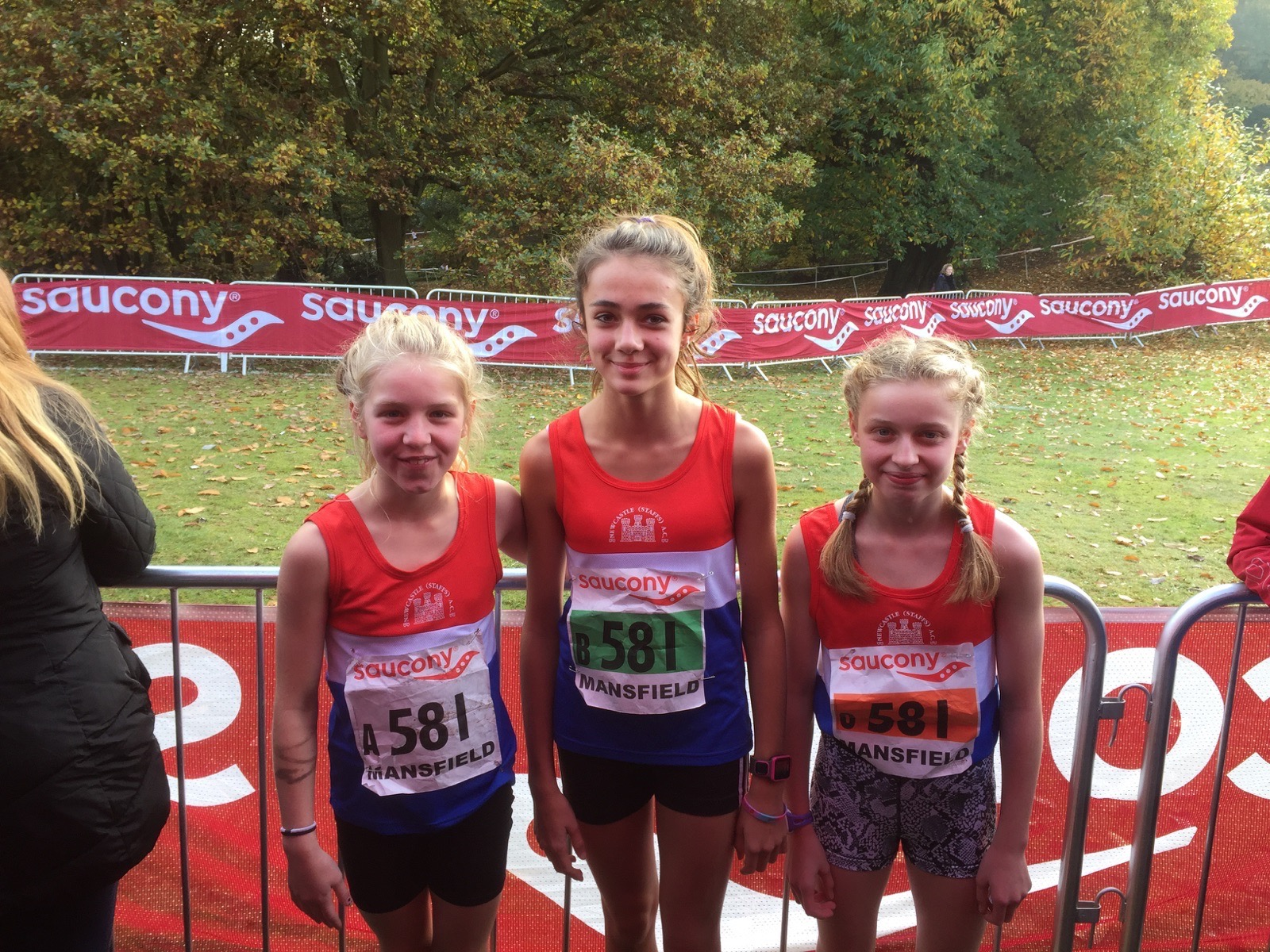 National Cross Country Relays at Mansfield 31/10/2105