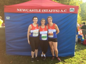 Senior Ladies Team - National Cross Country Relays 2015