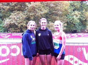 U/17 Ladies - Lucy, Sophie and Becky