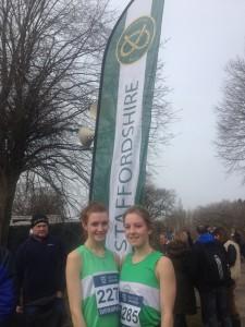 Sophie & Becky - Staffordshire's top 2 U/17 Women