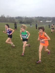 Misha in her first Inter-Counties Cross Country Championships