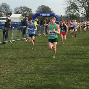 James Fradley first Staffordshire U/17 and 23rd position