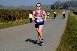 Ruth at 7.5 miles.