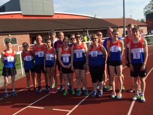 Team at Nuneaton