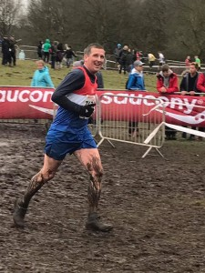 Paul - clearly enjoying  xc