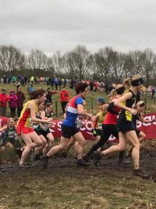 Rachel - mid Race