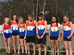 Newcastle athletes at the Midland 5km Road Championships