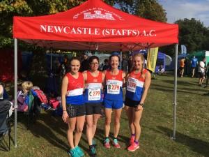 Newcastle (Staffs) AC A Team