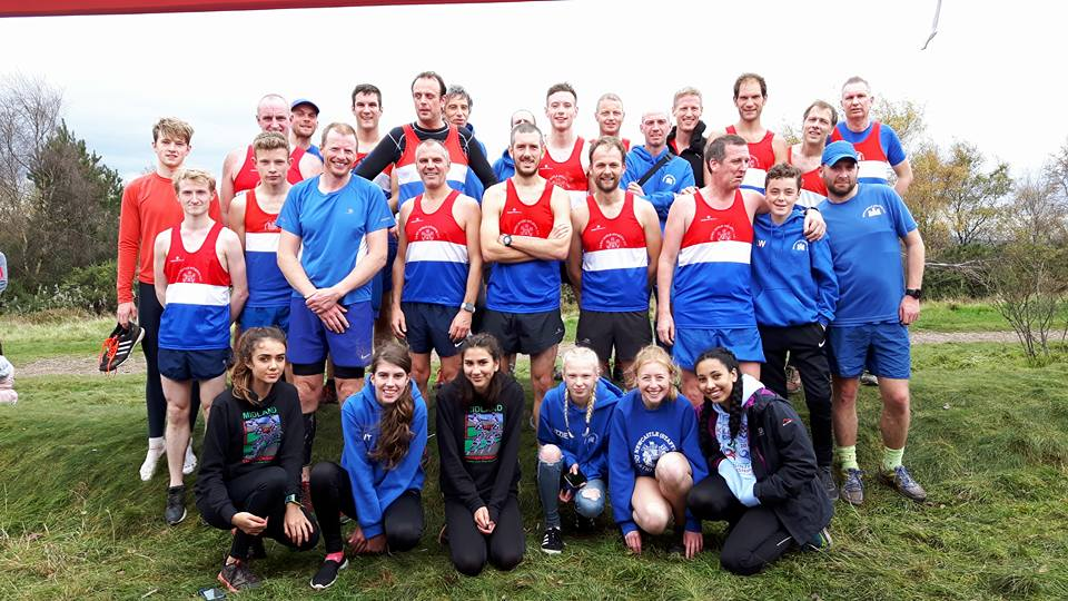 North Staffs Cross Country League Race 2 @ Parkhall Country Park – 28/10/17