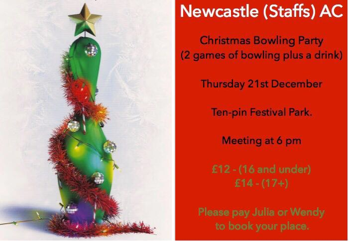 Christmas Bowling – Thursday 21st December 2017
