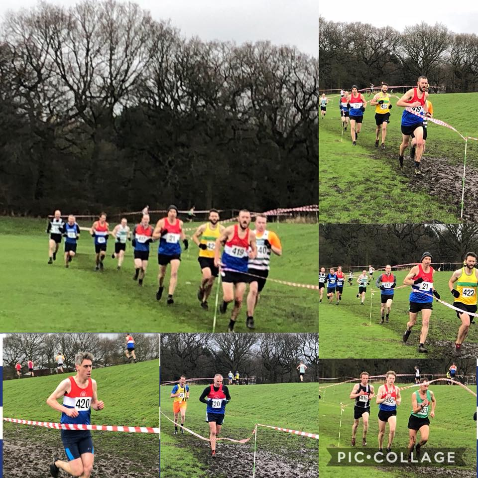 Staffordshire Cross Country Championships @ Sandwell Valley Park 6/1/18