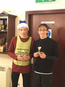 Lewis and Jacob - U/17's Team gold and Individual gold for Lewis