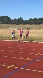 Charlie and Joe in the 1500m