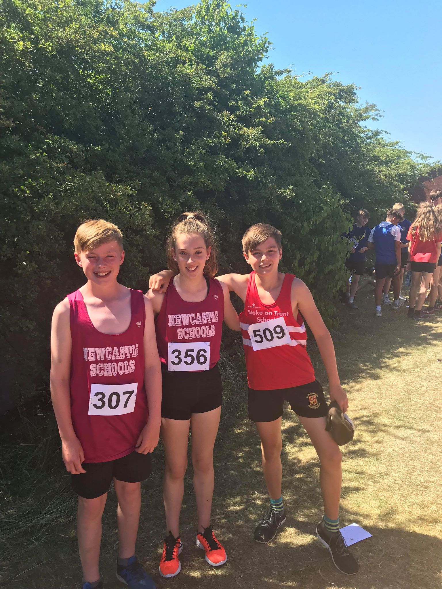 Staffordshire Schools U/13 – U/14 Championships @ Tamworth 27th June 2018
