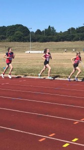 Lucy - 12th in the 1500m