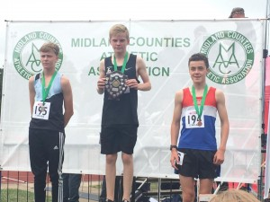 Louis - Midland U/15 Bronze over 1500m