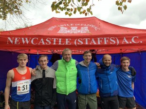 James, Jacob, Richard, Sean, Tim and Jordan - National Road Relays 2018