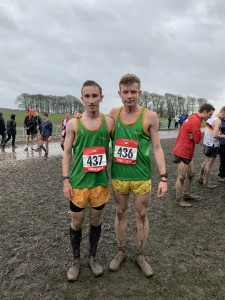 Jacob and Lewis - Racing for Staffordshire Schools 2019