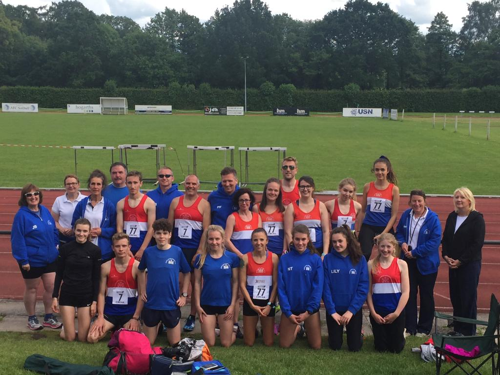 Midlands Track & Field Fixture 2 @ Solihull 9/6/2019