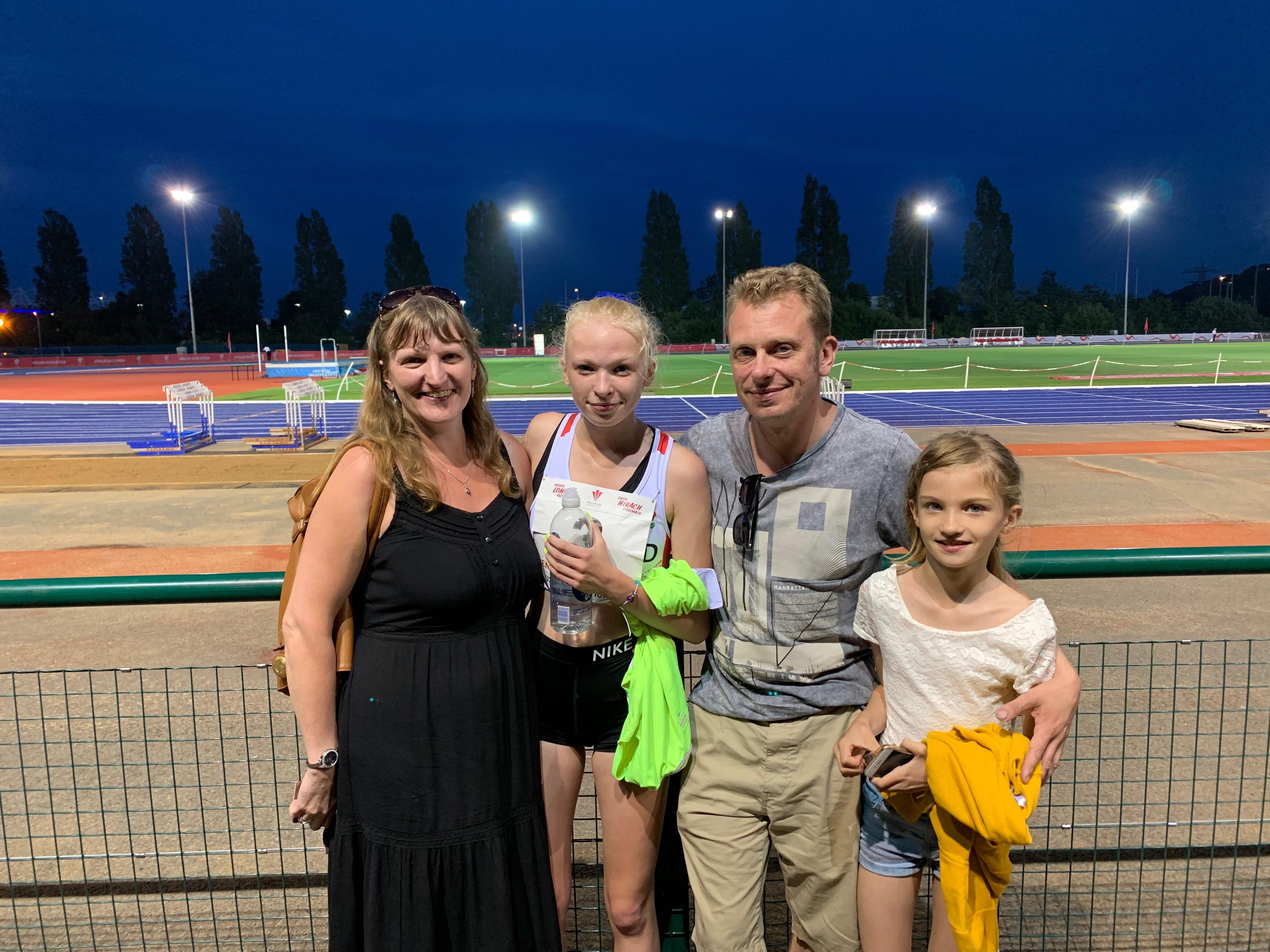 Elizabeth Clarkson races to big PB representing England – 24/7/2019