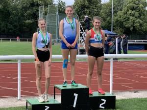 Nadine - Silver in the 1500m S/C