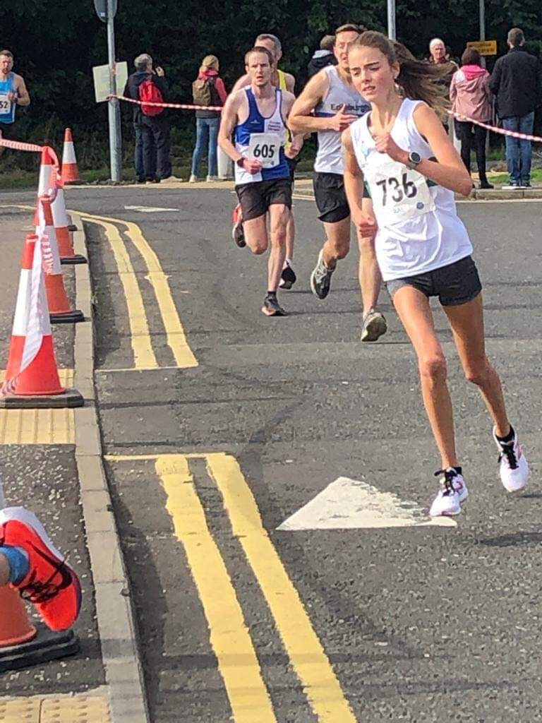Lauren races to big PB at Stirling 10km – 8/9/2019