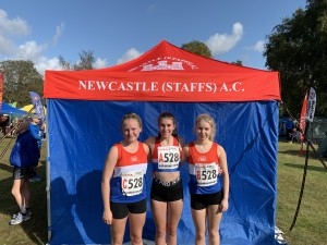 U/17 Women team - Sophie, Nadine and Misha