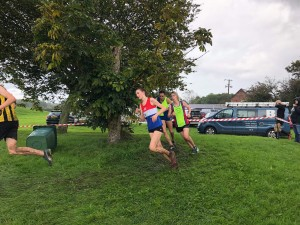 Sophie - on her way to a 3rd place finish
