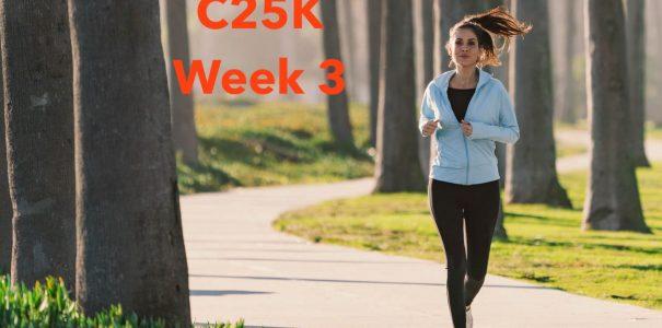 C25K Week 3 – 15/7/2020