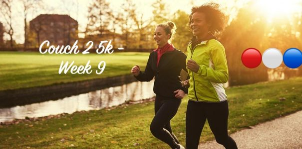 Couch 2 5k Week 9 – Completed ✅