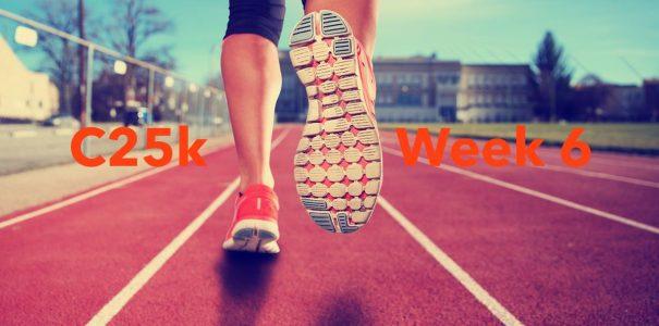 C25k Week 6