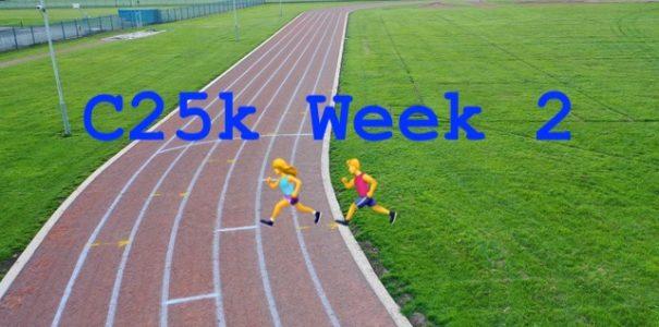 C25k Week 2